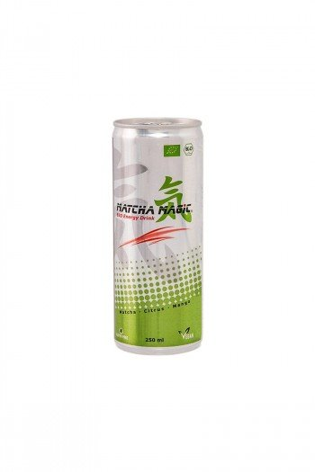 HERBATA MATCHA ENERGY DRINK BEZGLUTENOWA BIO 250 ml - MATCHA MAGIC