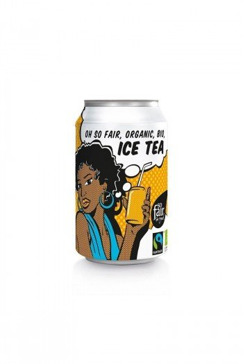 ICE TEA FAIR TRADE BIO 330 ml (PUSZKA) - OXFAM