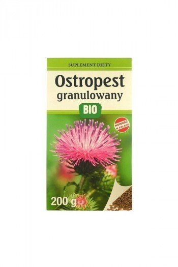 OSTROPEST PLAMISTY GRANULOWANY BIO 200 g - LOOK FOOD