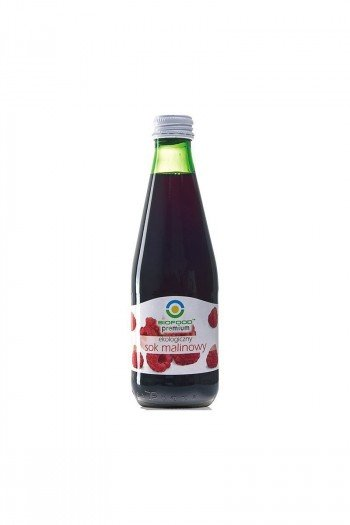 SOK MALINOWY BIO 300 ml - BIO FOOD
