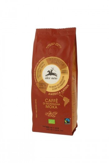 KAWA 100% ARABICA MOKA FAIR TRADE BIO 250 g - ALCE NERO